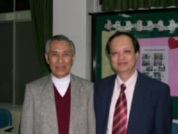 輔大-許洪坤教授與謝國平教授
